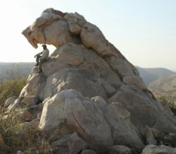 Natural Rock in Eastern Rajasthan By Rao Shivraj