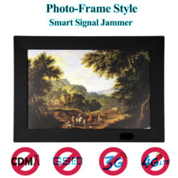 Using a new photo-frame design, has a very high hidden performance. Able to jamming all cell pho ...