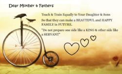 Dear Mother and father