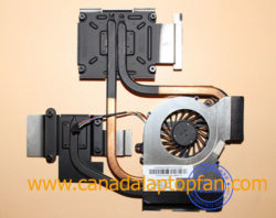 HP Pavilion DV7-6188CA Laptop CPU Fan and Heatsink 650797-001 [HP Pavilion DV7-6188CA Laptop] &# ...