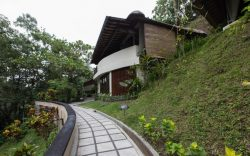 It is situated near Payangan, a village North of Ubud, whilst the hotel rests in the centre of t ...