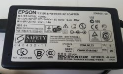 New Epson 24V 1.4A A291E ac adapter power supply for Epson 3170 3490 3590 4180 4490 Scanner    h ...