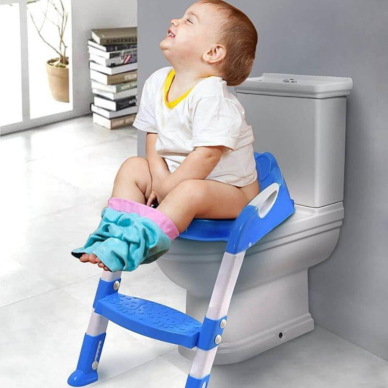 Baby Toilet Training Seats | Potty Training Toilet Seats with Ladder – BigBoomidea