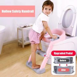 Potty Training Seat With Step Stool Ladder For Boys and Girls – BigBoomidea