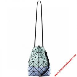 Bao Bao Issey Miyake Prism Wring Bi-color Shoulder Bag Light Blue