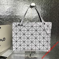 Bao Bao Issey Miyake Slash Carton T Shoulder Bag White