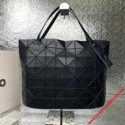 Bao Bao Issey Miyake Slash Rock Small Shoulder Bag Matte Black