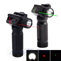 All-in-one Red or Green  laser and Flashlight For Tactical 3000 Lumens LED Flashlight With Two M ...